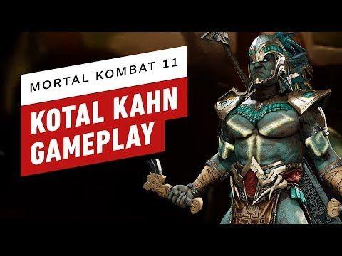 Mortal Kombat 11 – Kotal Kahn Gameplay and Move List Breakdown