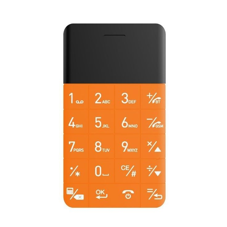 Buy World's Slimmest and Smallest Orange Mobile Phones with Keypad online price under 5000 in India. Shop Online slimmest mobile phone under 10000 in India