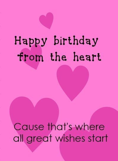 275 best images about Happy birthday Hearts on Pinterest