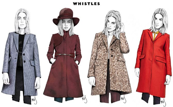Whistles Feature | AW11 - Milly Jackson Illustration http://www.millyjackson.com/