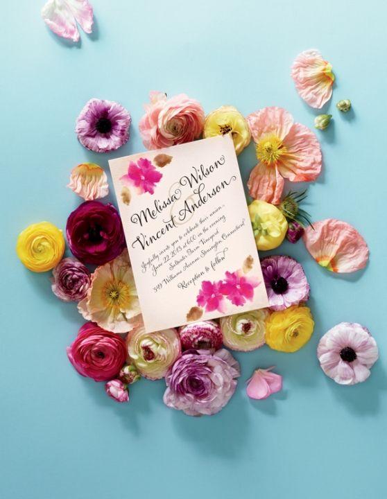 Botanical Bridal Shower Invitations Images March 2013