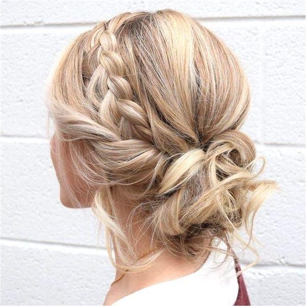 60 Prom Updos Ideas For Long Hair Checopie In 2020 Medium Length Hair Styles Braids For Short Hair Braids For Long Hair