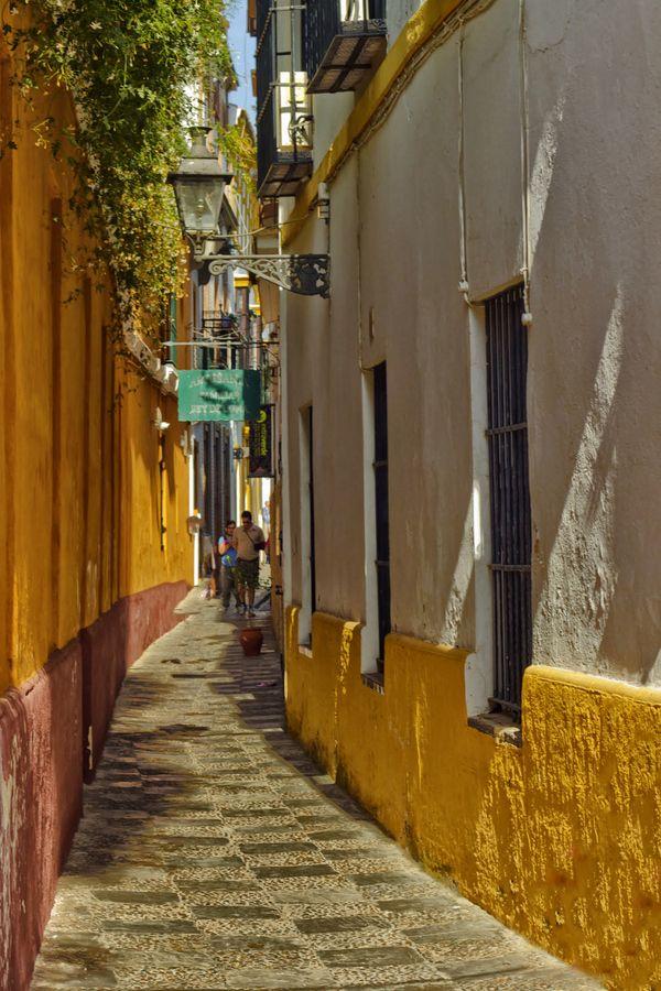 SEVILLE - Barrio de Santa Cruz