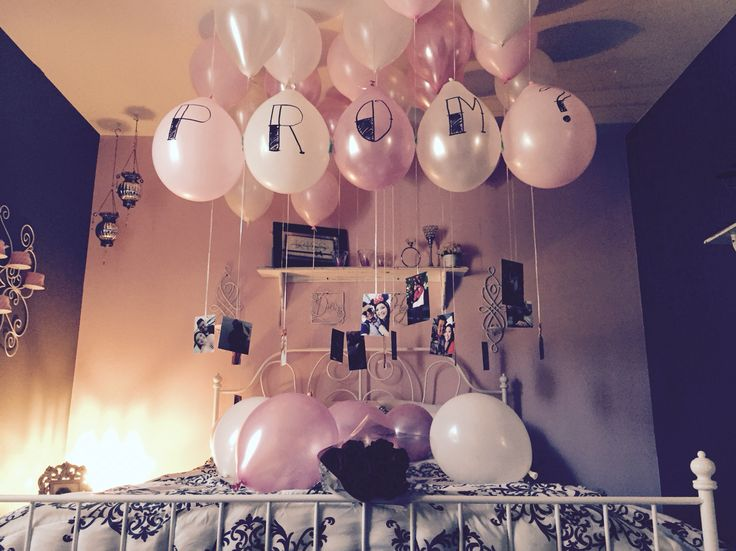 Prom proposal 2015 pretty in pink