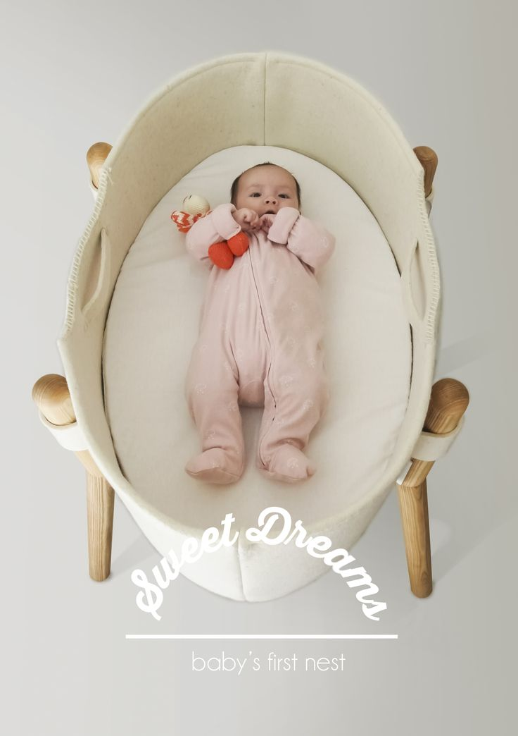 'Sweet Dreams' baby bassinet.