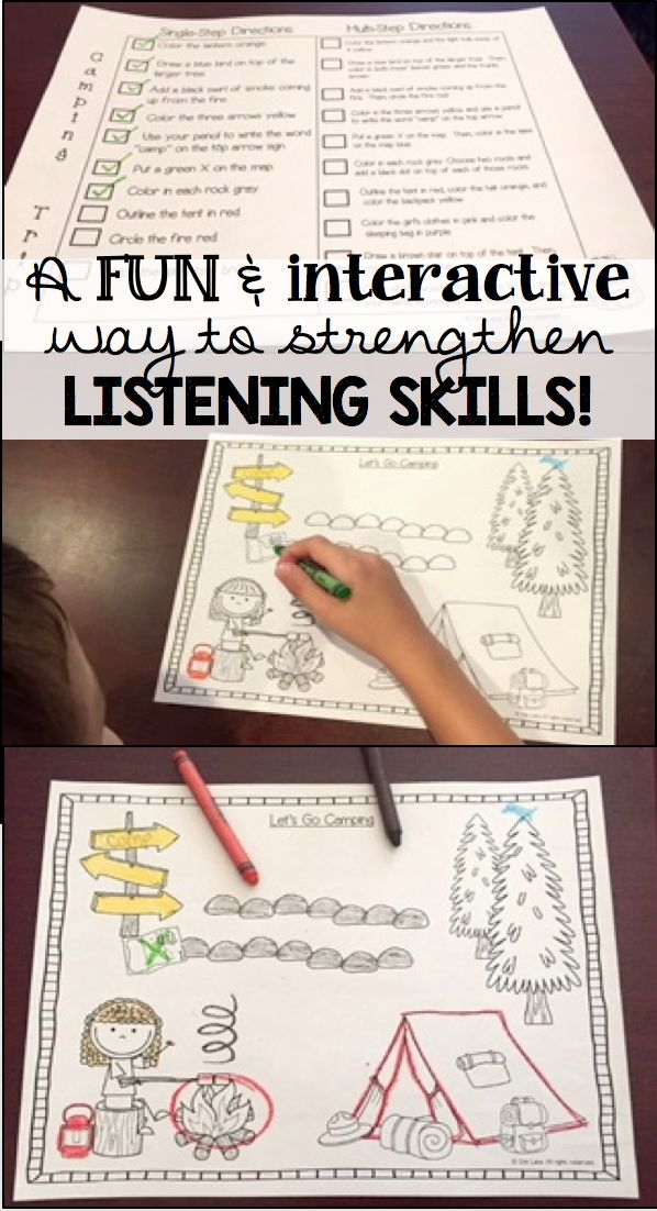 LISTEN & COLOR is a FUN weekly activity that gets students EXCITED TO LISTEN! Each month includes four themed activities, which can be used for practice or assessment. Single-step and multi-step directions are included, as well as color-coded answer keys so students can easily self-assess their listening skills. $