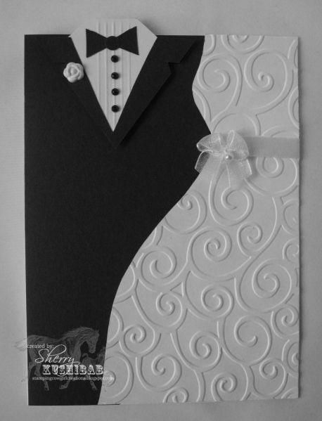 Tarjeta para una boda