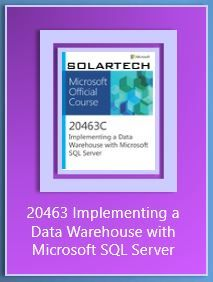 20463 Implementing a Data Warehouse with Microsoft SQL Server - Microsoft training course  describes how to implement a data warehouse platform to support a BI solution. Students will learn how to create a data warehouse with Microsoft SQL Server 2014 & 2012, implement ETL with SQL Server Integration Services, and validate and cleanse data with SQL Server Data Quality Services and SQL Server Master Data Services. This course also help you prepare for Exam 70-463.