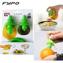 2pcs/Set Lemon Sprayer kitchen Gadgets Orange Juice Citrus Spray Manual Fruit Juicer Lemon Squeezer Kitchen Tools (China)