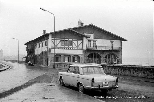 Sorospen-etxea /  Estación de Salvamento de Náufragos, en Arriluze (Colección Eugenio Gandiaga) (ref. SC3159)