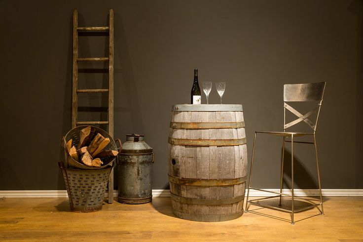 Let unique, on-of-a-kind, rustic accessories compliment your home. Old orchard ladders, olive baskets and milk jugs are among many of the treasures you will find.