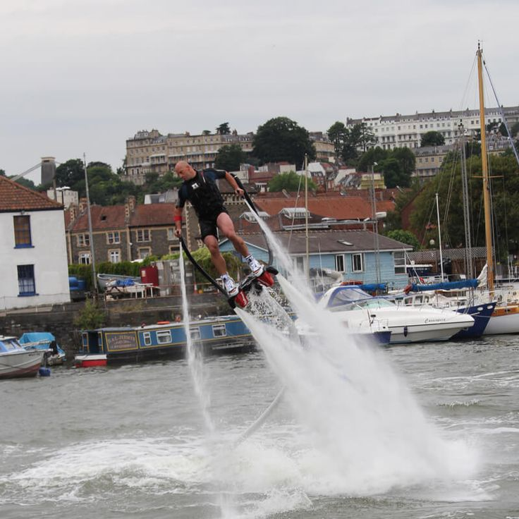 One to One Flyboarding Experience in London Devised in 2011, this is the worlds newest and craziest extreme water sport! Flyboarding came into being using Jet Ski equipment to create these futuristic feet and arm water propulsion devices, a tru http://www.MightGet.com/january-2017-13/one-to-one-flyboarding-experience-in-london.asp