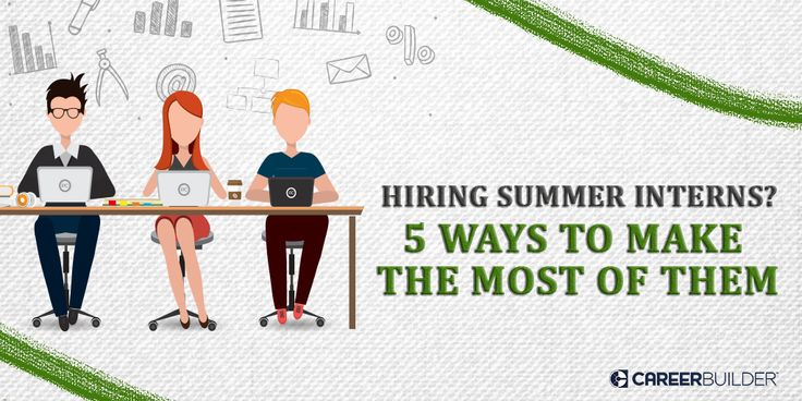 As you are interviewing a bunch of candidates for internship, it is important to keep in mind a few things when hiring summer interns.