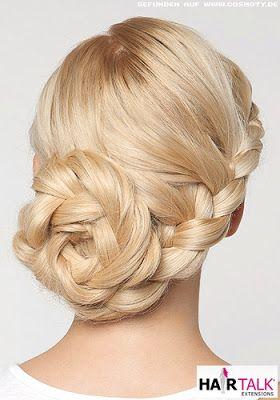 Peinados a la Moda: Elegantes Peinados con trenzas - Moda 2013