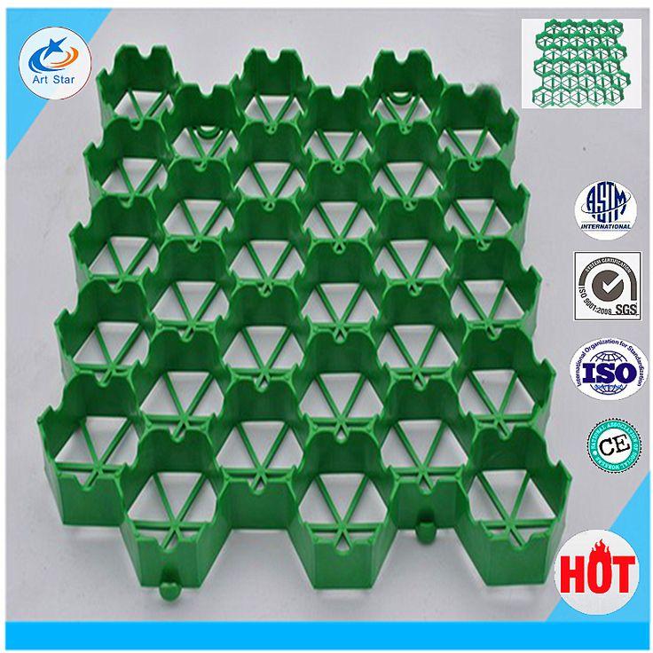 Top qualité Plantation d'herbe caillebotis en plastique herbe grille pour plafond grille pelouse protéger