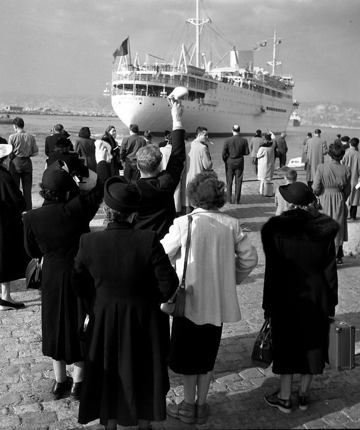Robert Doisneau  Port de Marseille