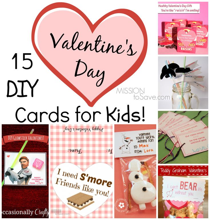 15 diy valentine day cards for kids - What Should I Do For Valentines Day