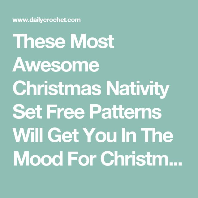 Set The Mood For Everything: 17 Best Ideas About Christmas Nativity Set On Pinterest