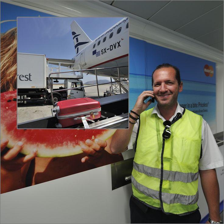 Με την άριστη φροντίδα από το ground team και τους Μηχανικούς της Aegean η πτήση μας είναι έτοιμη για αναχώρηση