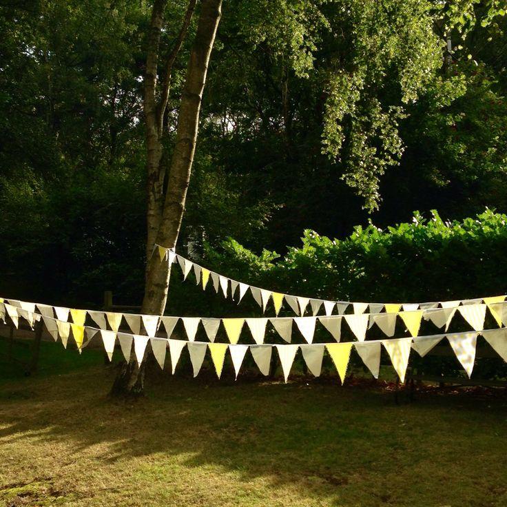 Wedding bunting, Garden party bunting, Garden party decoration