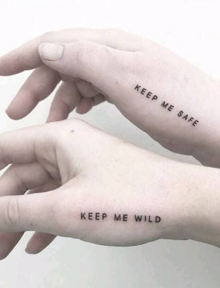 Trendy Tattoo Sister Ideas Best Friends Quotes 41 Ideas