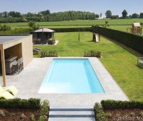 buitenzwembad, betonnen zwembad ‹ De Mooiste Zwembaden