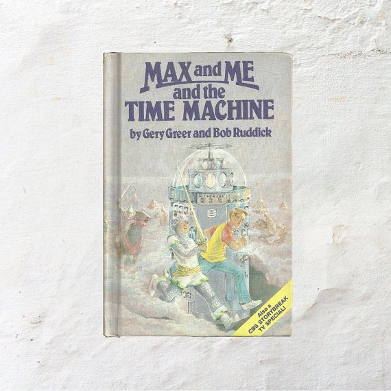 New in The Book Cottage: Science Fiction Time Machine Book | Max and Me and the Time Machine | 1980s Vintage Children's Story | 80s Kids Book by TheBookCottage