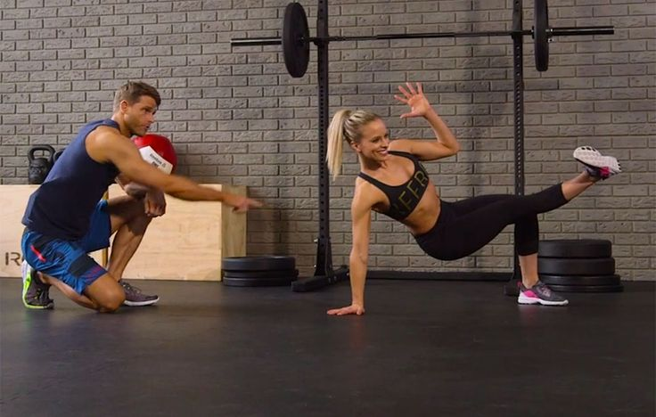 Planks are boring. This dynamic stability exercise kicks up the entertainment factor while challenging your midsection the entire time