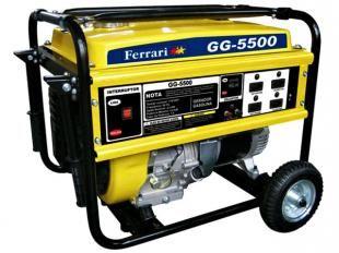 Gerador de Energia à Gasolina 5500 Watts - Ferrari GG4 5500