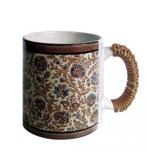 Kalamkari Brown Mug