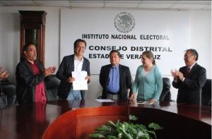 Cuitláhuac García Jiménez ganó la diputación federal por el Distrito XX de Xalapa Urbano, Veracruz para el partido Movimiento Regeneración Nacional (Morena) el domingo 7 de junio. Le ganó a la candidata del Partido Revolucionario Institucional (PRI) Elizabeth Morales García, en contra de los pronósticos locales que lo enviaban a tercer lugar en la contienda. […]