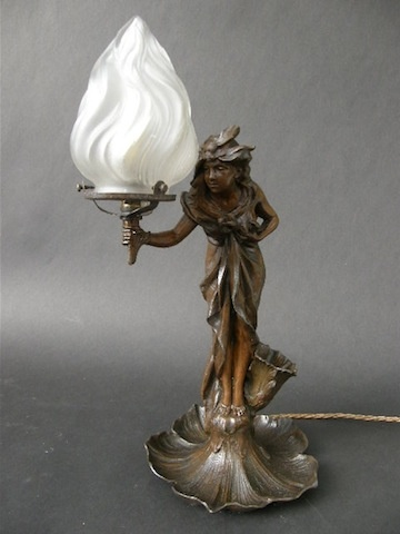 29 Best Images About Vintage Figural Lamps On Pinterest