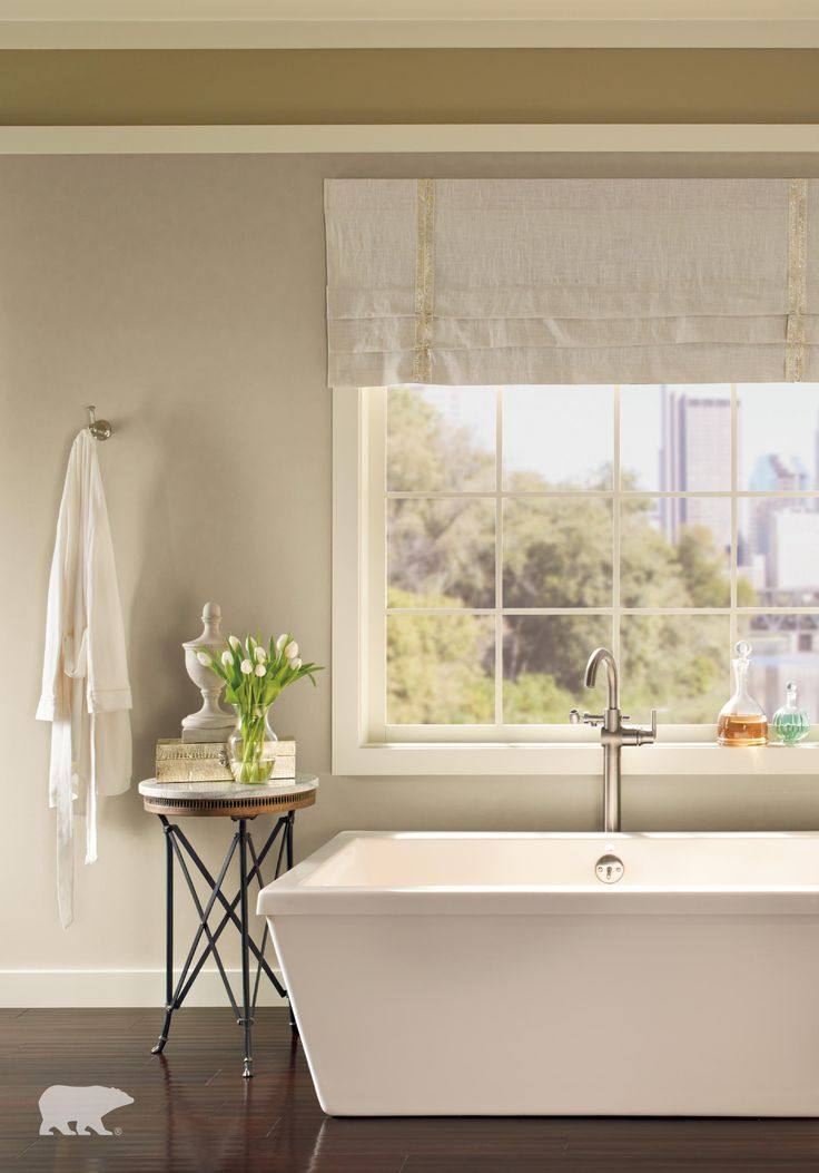 Create Bathroom Bliss In Your Own Space With This Room Inspiration From  BEHR Paint. The