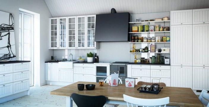 Custom Kitchen Black Range Hood For Modern Range In Creative Captivating Kitchen Decorating Ideas Design Country Designs Island Own Ikea Con...