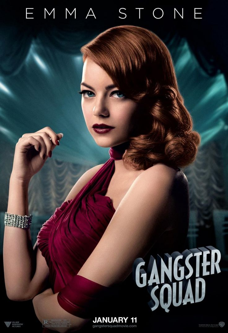 Gangster Squad 2013 Audio Eng Hindi Watch Online Starring Sean Penn, Ryan Gosling, Emma Stone, James Hébert, Ambyr Childers