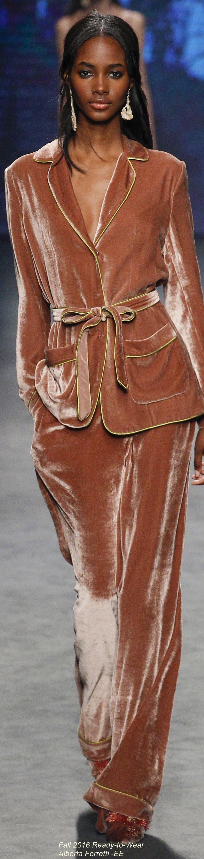 Fall 2016 Ready-to-Wear Alberta Ferretti