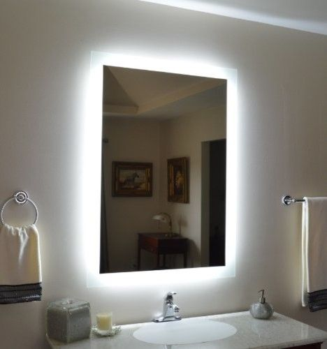 Bathroom Mirror Ideas best 25+ backlit bathroom mirror ideas on pinterest | backlit