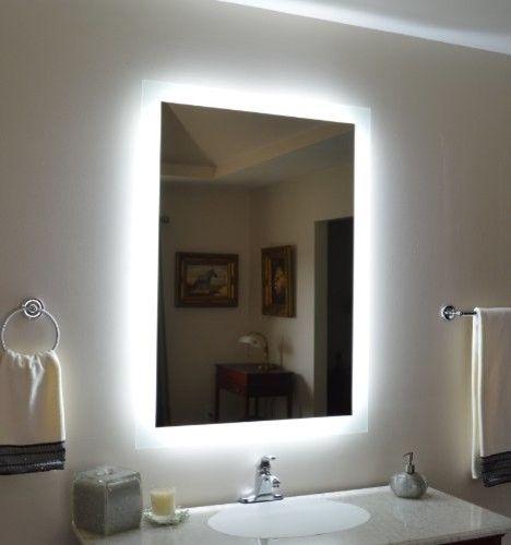 finest best ideas about backlit bathroom mirror on pinterest with bathroom mirrors ideas. Interior Design Ideas. Home Design Ideas