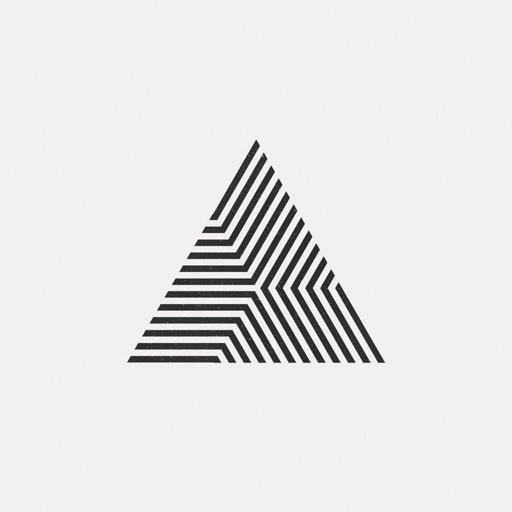 "dailyminimal: ""#OC16-734 A new geometric design every day """
