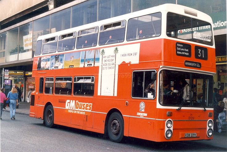 GREATER MANCHESTER BUSES 8129