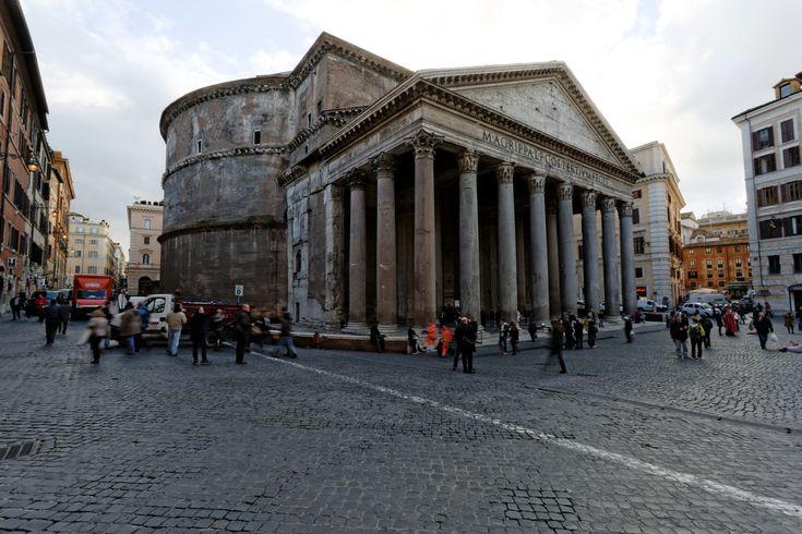 Galeria de Clássicos da Arquitetura: Panteão Romano / Imperador Adriano - 11