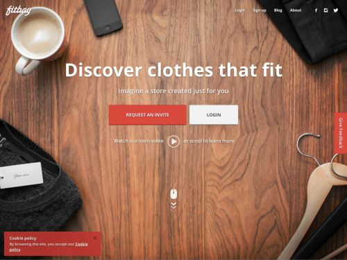 Fitbay.com: Discover clothes that fit