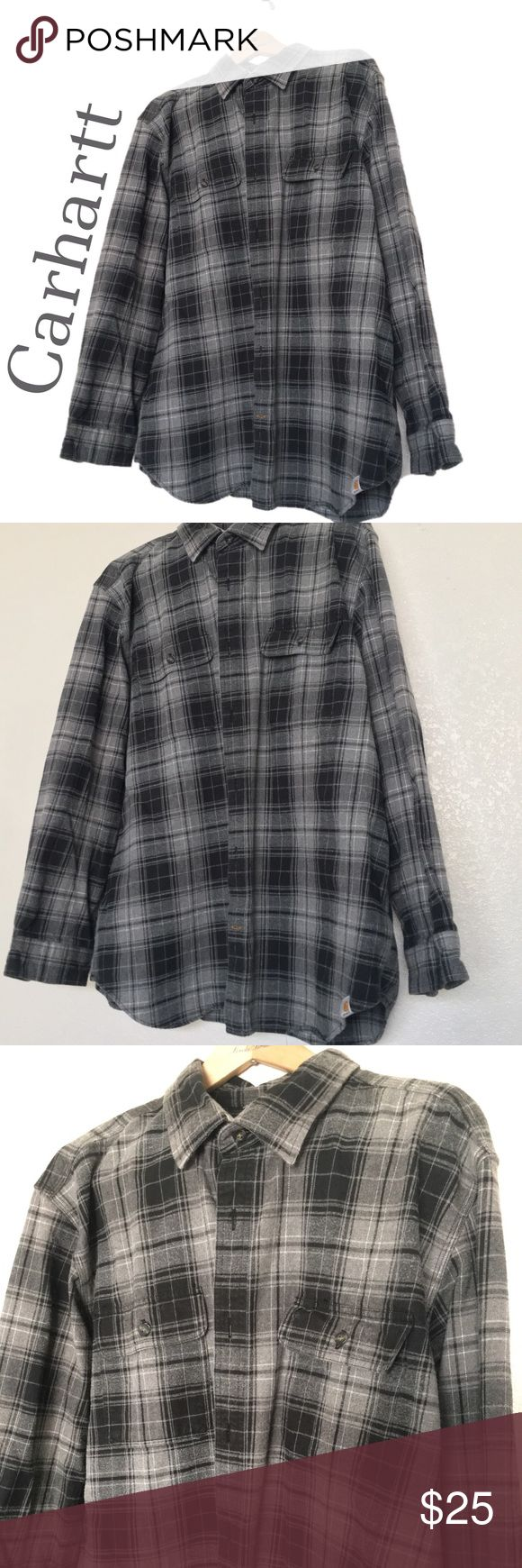 Carhartt heavy duty flannel shirt! Super heavy duty Carhartt flannel, like new, no imperfections! Feel free to make an offer! 😄👍🏼 Carhartt Shirts Casual Button Down Shirts
