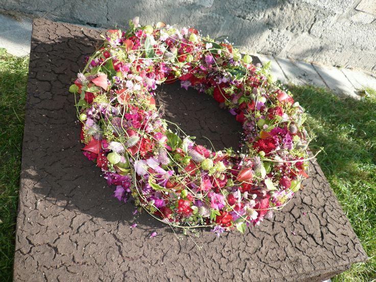#Wreath #flowers