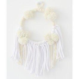 Minalulu Traumfänger, Weiß Creme