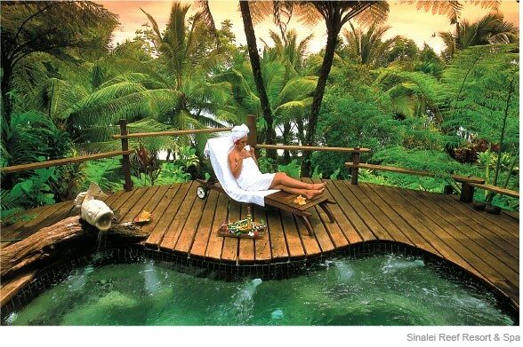 Spoil yourself with an escape to Sinalei Reef Resort & Spa, Samoa  www.islandescapes.com.au