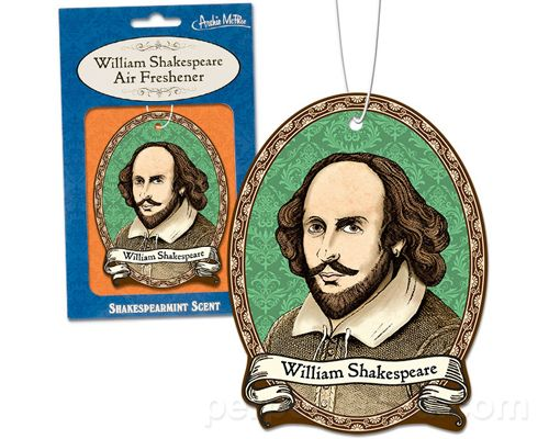 WILLIAM SHAKESPEARE DELUXE AIR FRESHENER