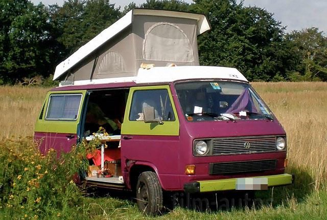 Oldtimer VW Bus T3 Camper zum Mieten
