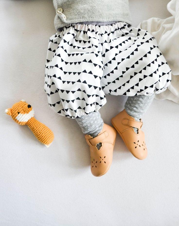 Die süßeste Babyhose der Welt - Free Pattern