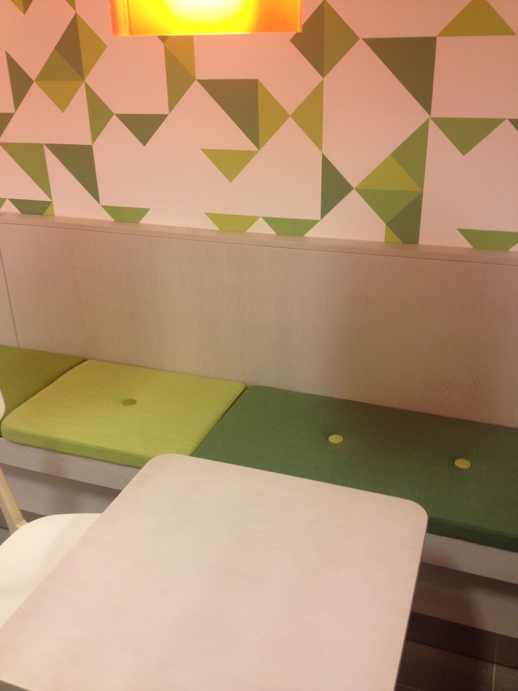Sofa and wallpaperdesign for café in all Preem gas stations. #interior #interiordesign #gasstation #wallpaper #scandinaviandesign #preem #dawnofideas